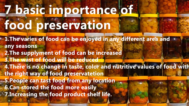 7 basic importance of food preservation